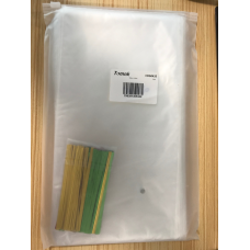 TOMNK Clear Cellophane Bags 150 Pieces Treat Bags with Twist Ties for Holiday Goody, Party Favors, Cello Candy Bags and Gifts